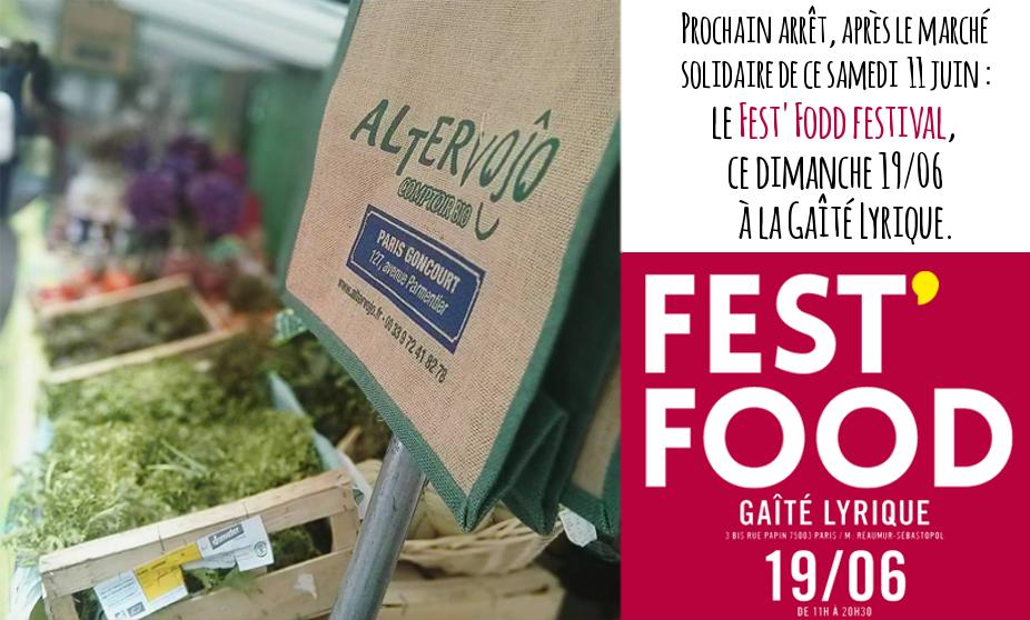 Altervojo au Fest'food festival ce dimanche 19 juin.